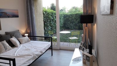 Photo for Contemporary studio with garden in Albi city center episcopal city