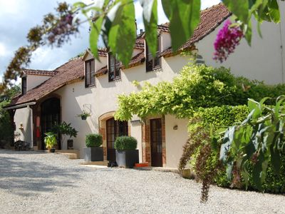 Photo for Enjoy your holiday in a charming gîte with large pool in the Lot