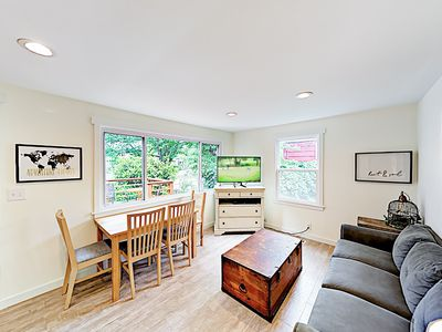 Photo for New Listing! Quiet Gatewood Haven w/ Private Backyard & Hot Tub - Near Ferry