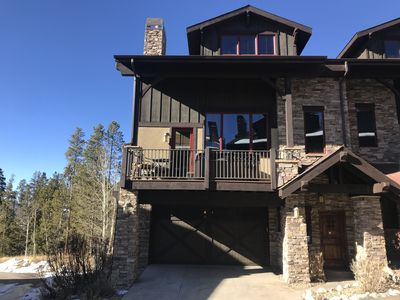 Photo for 4 Br. Beautiful Luxury Mountain Townhome with 6 person hot tub