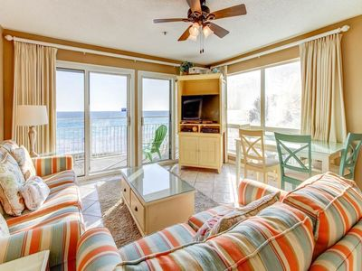 Photo for Gorgeous 2nd Floor Condo! Sleeps 6, Gulf Front, Pool, Beach Boardwalk, in the Heart of Destin!