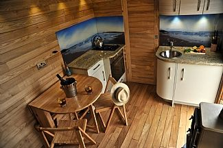 property image5 tiny wood house wood fired hot tub u0026 south african style