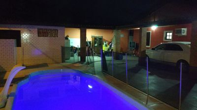 Photo for Beautiful house with pool and barbecue on Enseada beach for your FAMILY.