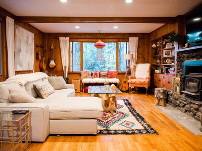 Photo for The Rabbit Hole: Beautiful home with amazing location in Stowe