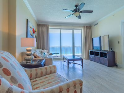 Photo for Gulf Front Master Suite! Huge Balcony! Resort Amenities! Close To Pier Park!