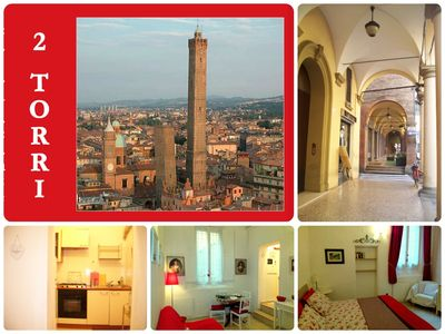 Photo for Historic Center 2torri ♥ Comfortable♥ Family Friendly