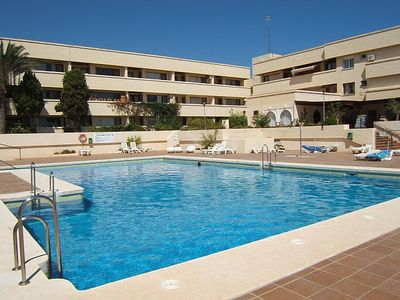 Photo for Apartment for 2 persons Second Floor in 1st line of the beach, Mojacar