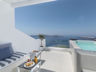 Photo for Aether suite with hot tub by Caldera houses
