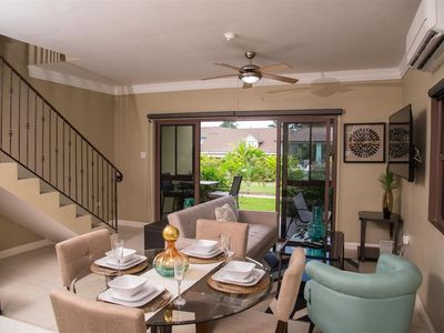 Photo for Gorgeous Two Bedroom Beach Access Villa near Old Fort Bay