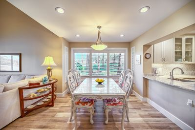 Large Dining Room table for seating up to 6