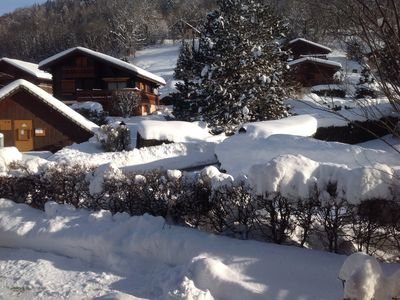 Photo for Family chalet near Les Gets resorts, Samoens, Sommand Praz-de-Lys