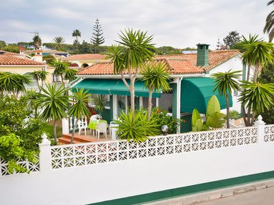 Photo for This 2-bedroom villa for up to 4 guests is located in Marbella and has a private swimming pool......
