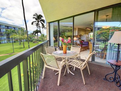 Photo for Popular location, easy access to the manicured lawns and beach front resort