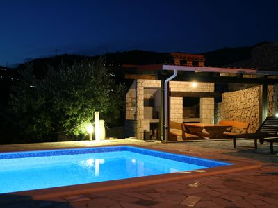 Photo for Villa Anabella peaceful holiday home, in Klis, with pool to enjoy