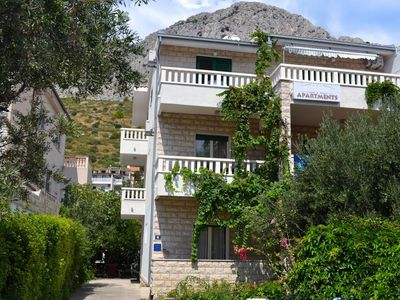 Photo for Apartment in Duće (Omiš), capacity 4+2
