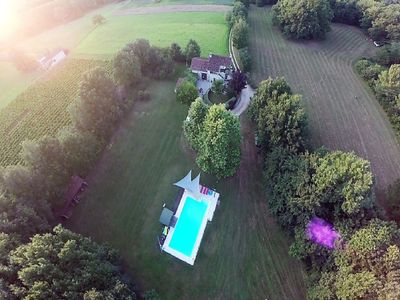 Photo for Peaceful Villa in Puy-l'Eveque with Swimming Pool