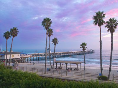 Photo for SAN CLEMENTE BEACH FRONT AT THE PIER