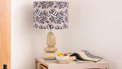 Love this hand made lampshade