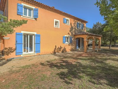 Photo for Beautiful villa with large, enclosed garden 30 minutes from Gorges de Verdon.