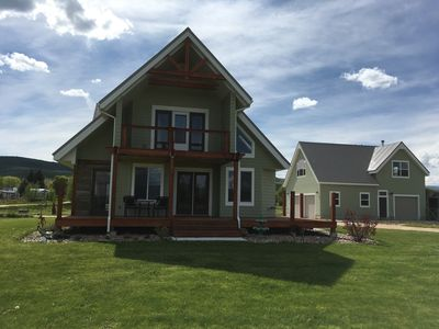 Photo for 3 Bedroom House - Beautiful, sits on 1/2 acre in country with view of lake