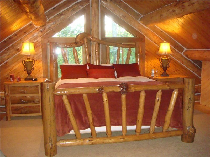 Custom Log Cabin In The Heart Of The Manistee National Forest Brethren Michigan Rentbyowner