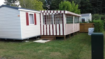 Photo for Air-conditioned MOBILE HOME 8 people with covered and closed terrace