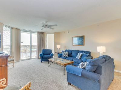 Photo for Spacious condo in one of the most desired locations in Barefoot Golf Resort!