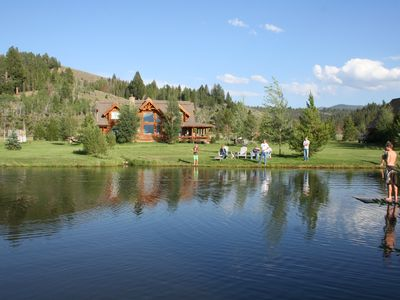 Photo for Spectacular estate for families, fishing, hiking and biking!
