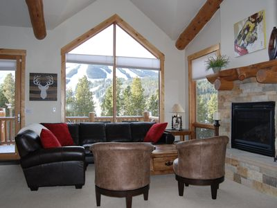 Photo for 3 BR  with Private Hot Tub and views of the slopes in prestigious Lakota!!