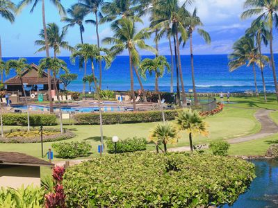 Photo for Premier Condo with 1st Class Luxury at Papakea Oceanfront Resort, Unit H304.