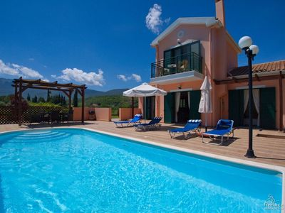 Photo for 2 bedroom Villa, sleeps 4 in Sami with Pool, Air Con and WiFi