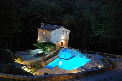 Secluded Mill and Millers House , Each with Private Pool Rent Either or Both