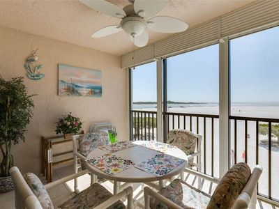 Photo for Carlos Pointe 213, 2 Bedrooms, Gulf Front, Elevator, Sleeps 4, Heated Pool