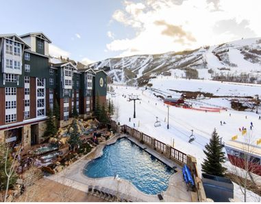 Photo for Marriott Mountainside Ski-in/out at Park City Mountain Base -  2 bedroom/2 bath