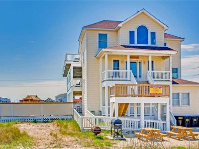Photo for Stress-Free in Rodanthe! Oceanview-Pool, Hot Tub, GameRm, Elevator, Sound Access