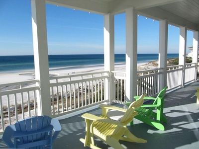 Photo for Luxury Beach Front Home-Two Huge Master Suites-Best on 30~A~