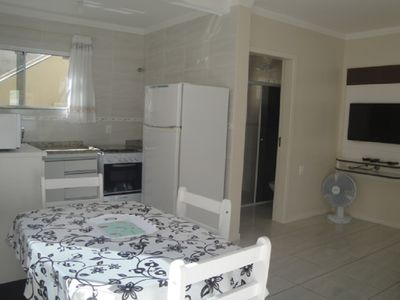 Photo for Great apt 1 bedroom (ground floor - T1) in Ponta das Canas / Florip