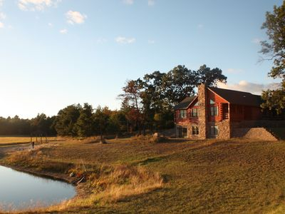 Photo for Cabin In The Middle Of 72 Acres ~ Private Swim Pond ~ Enjoyable All Year