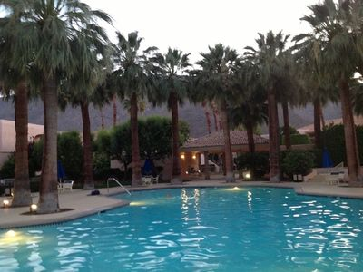 Photo for Deauville Delight, Downtown Palm Springs Condo, A/C, Mountain Views, Fireplace
