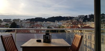Photo for New on the market !! View on the roof of Nice, 300m from the sea !