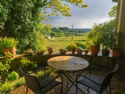 Photo for Charming Studio in one of France's most beautiful villages, Séguret, in Vaucluse