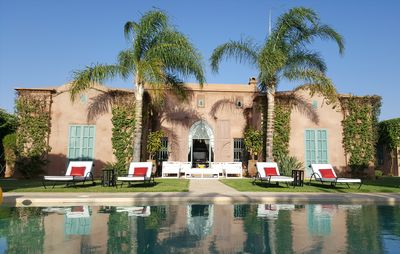 Photo for Luxurious Villa Garden and private pool not overlooked Housekeeper and Services