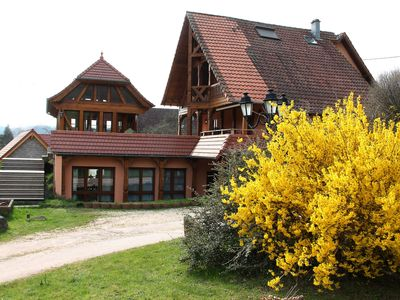 Photo for ALSACE. WONDERFUL HOLIDAY HOUSE, 100m2 for 4 people surrounded by greenery.