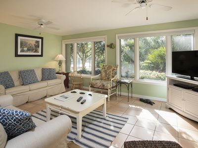 Photo for Beautifully updated SeaPines beach villa, Pet friendly, On site pool