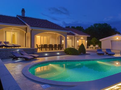 Photo for Luxury villa GARDENA with private pool and a beautiful garden