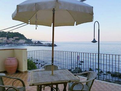 Photo for Typical fisherman's house facing the sea with beautiful terrace
