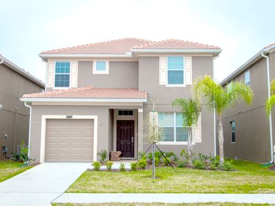 Photo for Enjoy Orlando With Us - Paradise Palms Resort - Welcome To Cozy 5 Beds 5 Baths  Pool Villa - 4 Miles To Disney