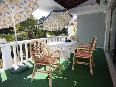 Photo for Three bedroom apartment with terrace Umag