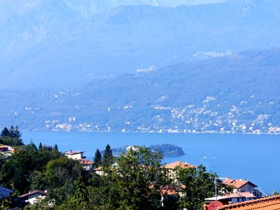 Photo for 'Casa Pedum'- large apartment with panoramic views of Lake Maggiore + mountain