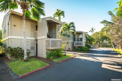 Low density community, two units per each building (rare in Maui!)